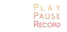 Play Pause Record Logo
